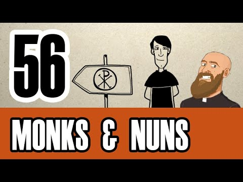 3MC - Episode 56 - What are monks, nuns and religious orders?
