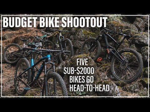 Budget Mountain Bike Shootout - 5 Bikes Under $2,000 Battle it Out