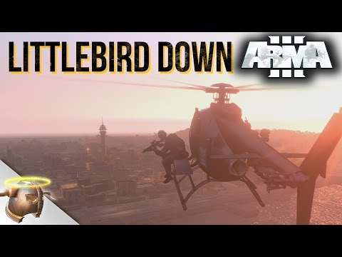 LITTLEBIRD DOWN - Cinematic ARMA 3 mission