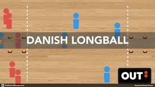 Danish Longball - Physical Education Game (Striking & Fielding)