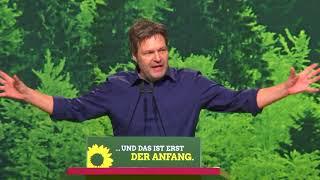 Robert Habeck Bewerbungsrede auf dem Bundesparteitag 2018