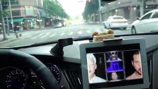 아이패드, CD 플레이어 슬롯 삽입형, 차량용 거치대,…