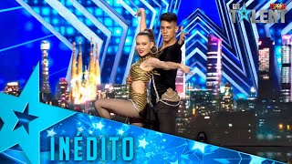 This DUO unites REGGEATON and BALLROOM DANCING in this show | Never Seen | Spain's Got Talent 2021