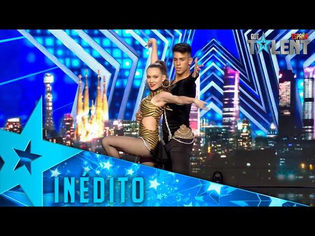 Este DÚO une REGGEATON y BAILES DE SALÓN en este número | Inéditos | Got Talent España 2021