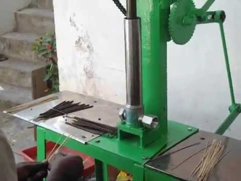 Agarbatti Making Machine Price Rs 13 000 Only Youtube
