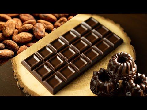 ASMR カカオ豆と砂糖で作る自宅ビーントゥバーチョコレート Bean to Bar Chocolate