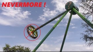 I will never again ride the Riddler Revenge at Six Flags over Texas