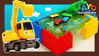 Мощные большегрузные автомобили l Poco делает горячий источник для автобусов! l Приключения Тайо