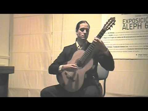Doce Estudios, H. Villa-Lobos - Camilo, Guitarra (Marzo, 2012)