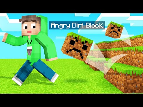 BLOCKS Come To LIFE In MINECRAFT! (Scary)