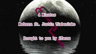 4 minutes madonna ft justin timberlake real version!!!