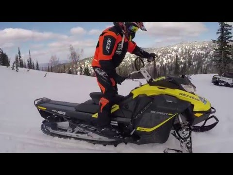 ОБЗОР SKI-DOO SUMMIT G4 850 E TEC 2017