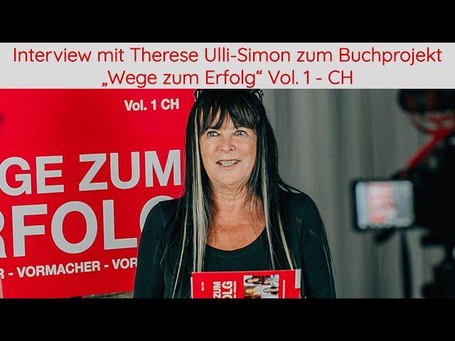 Interview mit Autorin Therese Ulli-Simon zum Buchprojekt