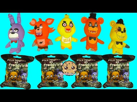 Five Nights A Freddy's Surprise Mystery Blind Bags + FNAF Plushies - Cookieswirlc Video