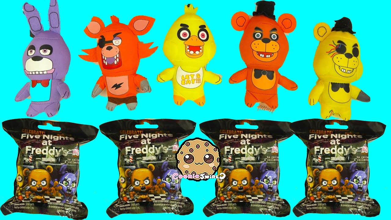 Five Nights A Freddy S Surprise Mystery Blind Bags Fnaf