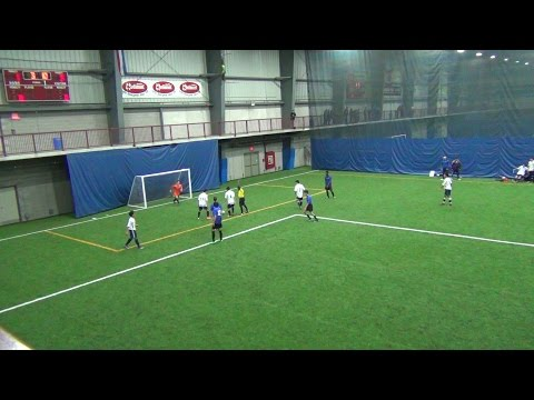 Ontario Indoor Cup 2016 U18 Boys: Mississauga Dixie Athletics vs North York Franco Foot