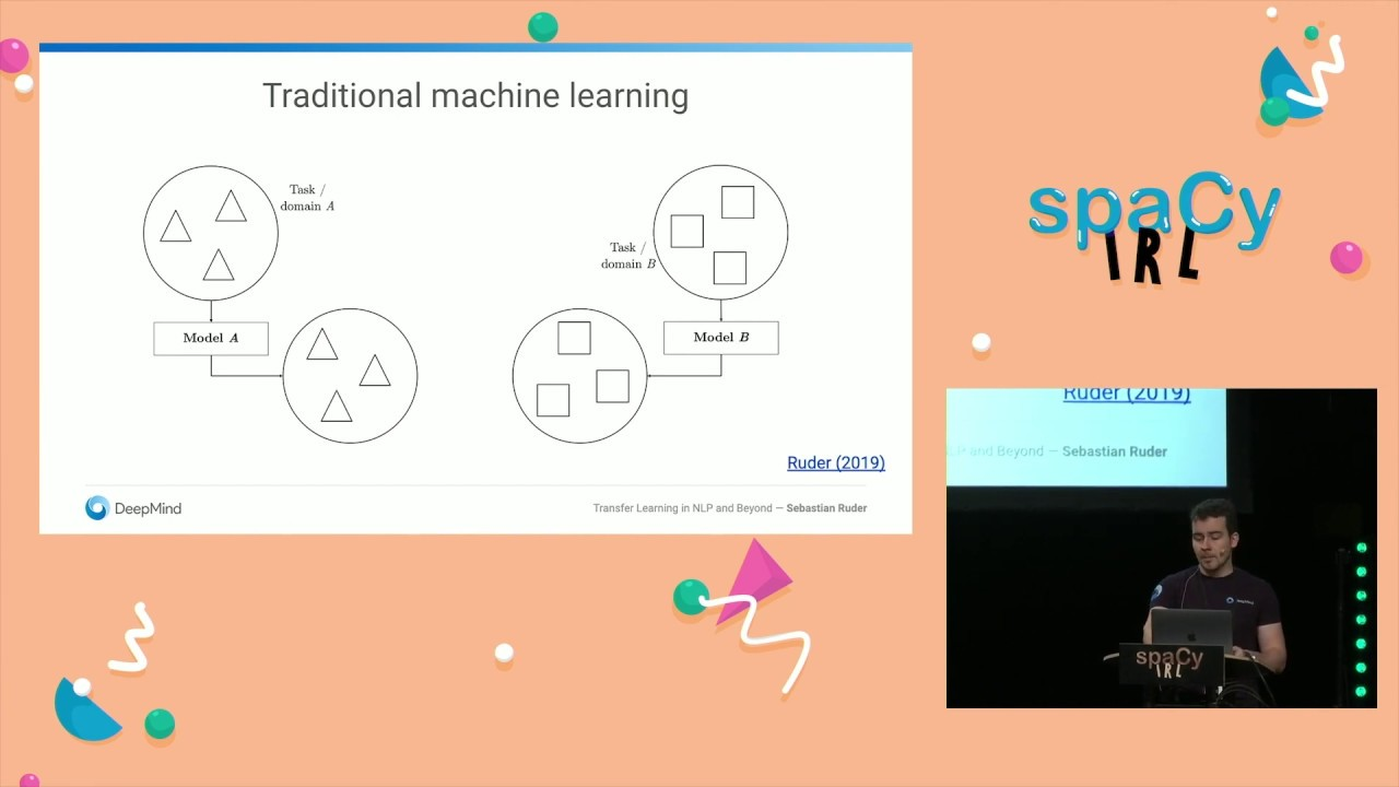 Sebastian Ruder: Transfer Learning in Open-Source Natural Language  Processing (spaCy IRL 2019)