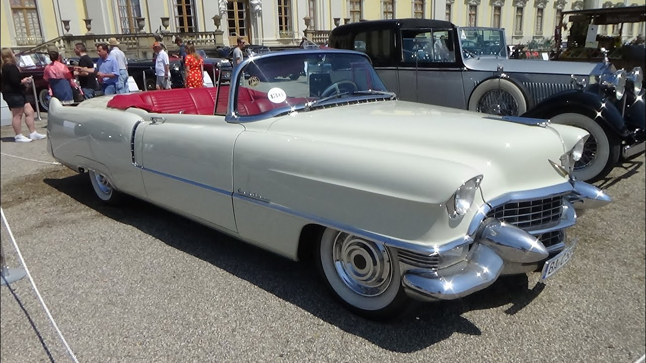 1955, Cadillac Series 62, Exterior and Interior, Retro Clics ...