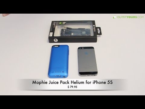 new style 96f81 05851 mophie juice pack helium for iPhone 5S - Review