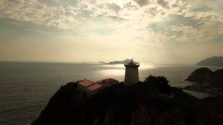 Drone 4k free footage - fly through light house Free stock video 2016