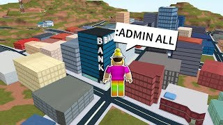 Playing as an ADMIN on ROBLOX! KAH | Dotty's RB Adventures