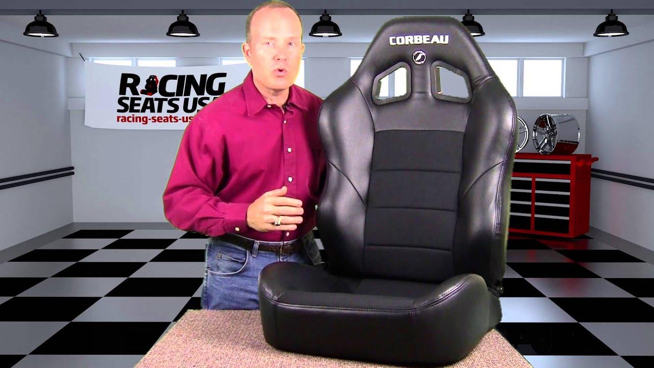 Corbeau Baja Xrs Racing Seat Youtube