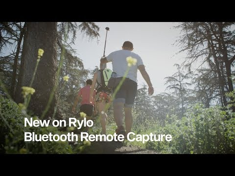 Rylo: New on Rylo - Bluetooth Remote Capture