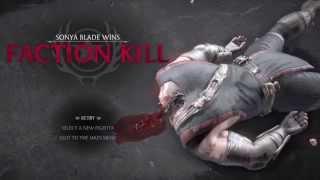 Mortal Kombat x - All special forces faction kills