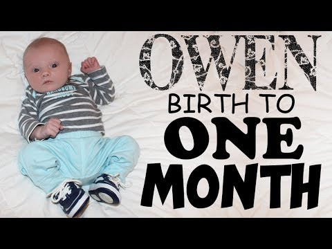 Happy One Month Birthday, Owen!