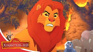 Мультфильмы Disney - Хранитель лев | Конец рощи Мизиму (Сезон 2 Серия 29)