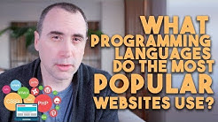 What Programming Languages do the Most Popular Websites Use?