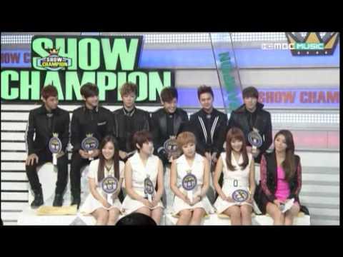Download 121204 MBC Show Champion 씨클라운(C-CLOWN) cut 씨클라운 중 늑대소년은 누구?