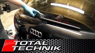 How to Remove Rear Wiper Arm - Audi A4 S4 RS4 - B6 B7 - Avant Estate - TOTAL TECHNIK