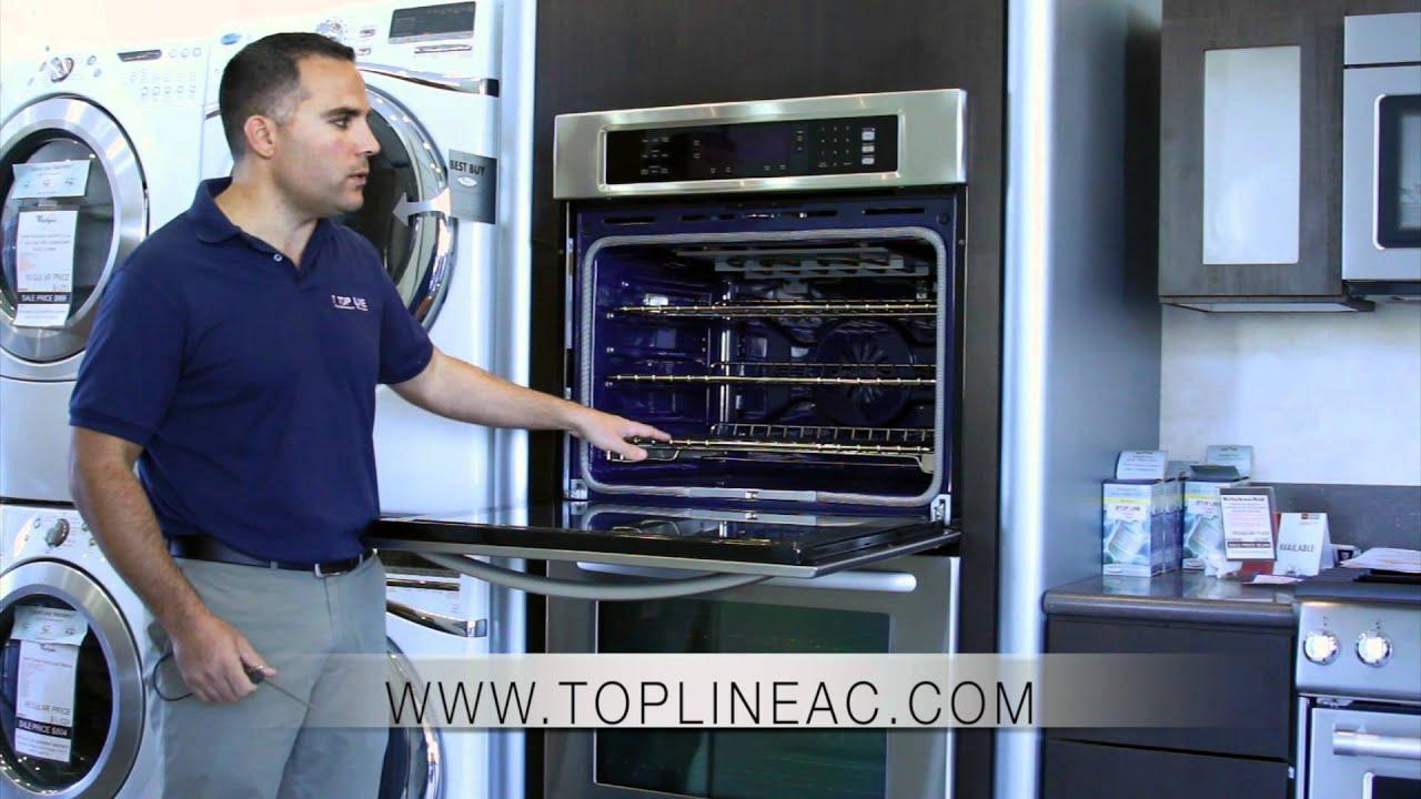 kitchen appliance ratings pan rack kitchenaid wall oven kebs208ss - topline center ...