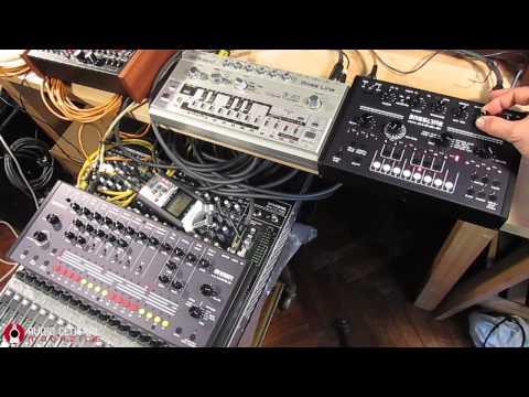 Acidlab de Bassline vs Roland TB 303 Bassline