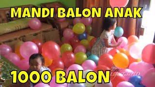 Mandi Balon Dekorasi Ulang Tahun Mainan Anak 💖 Balonnya b...