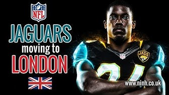 NFL Jacksonville Jaguars are moving to London? (one step closer)