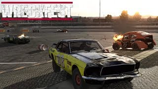 WreckFest -2- Demo Derby & Figure 8 Racing With RiskyClay