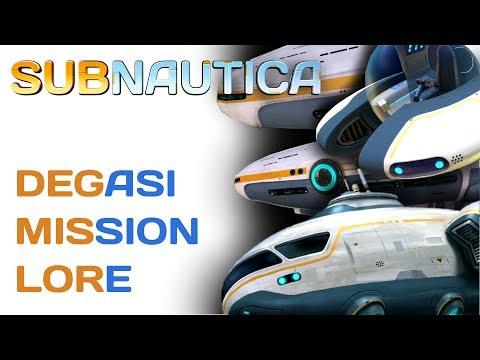 Subnautica Lore: Degasi Mission | Video Game Lore