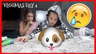 HER PUPPY DIED | VLOGMAS DAY 4