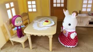 Maşa Bayan Sevimli Tavşanın Evine Gidiyor Maşalar Oyun Oynuyor Eğlenceli Çizgi Film