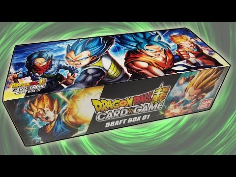WHAT A PULL! INCREDIBLE Dragon Ball Super Draft Box Opening!