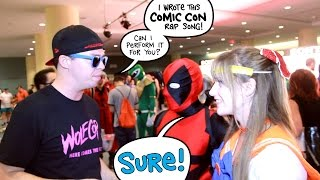 Comic Con MONSTER Rap Song...