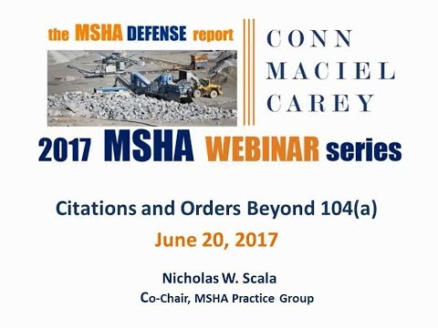 MSHA Citations and