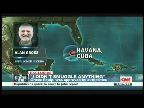 Alan Gross Interview with Wolf Blitzer Havana Cuba (May 3, 2012)