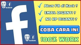 Dijamin Berhasil ! Cara Mengembalikan Akun Facebook Yang Di Bajak 2020