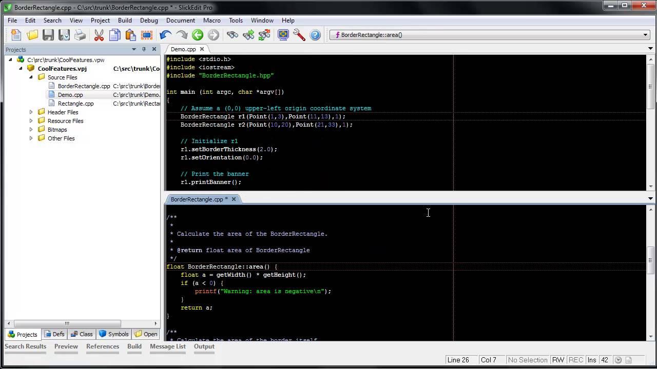 SlickEdit - C++ Beautifier