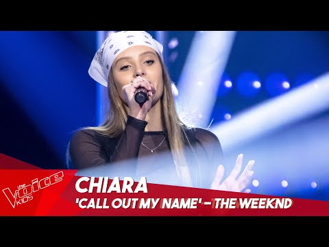 Chiara - 'Call out my name'   Blind Auditions   The Voice Kids Belgique