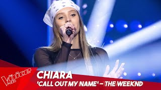 Chiara - 'Call out my name' | Blind Auditions | The Voice Kids Belgique