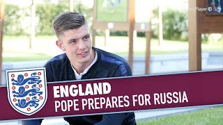 ENGLAND   Pope Prepares For Russia